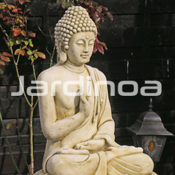 Statue Bouddha Assis 80cm (215944) / Serge B. (95)