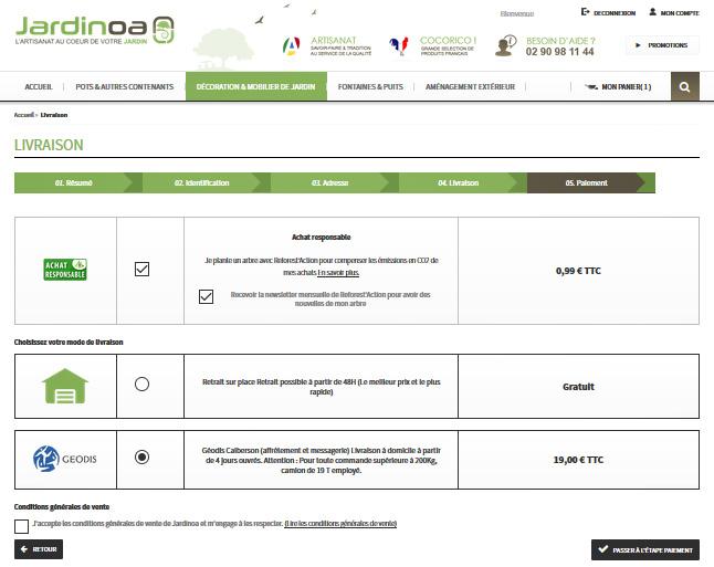 Plantez un arbre avec Jardinoa et Reforest'Action